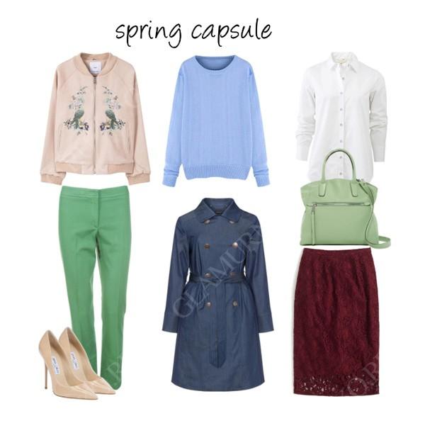 весенний базовый гардероб